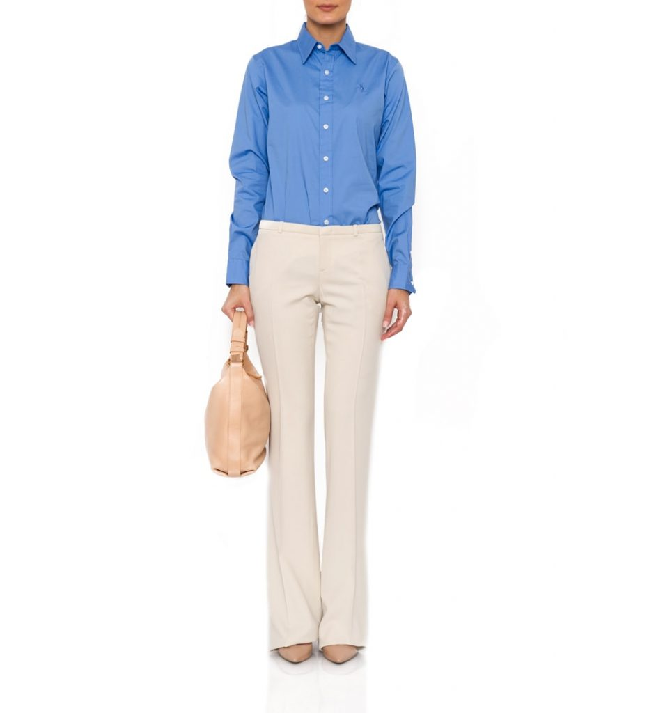 The Dresser - Pantaloni Gucci de culoare crem
